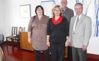v.l. Fr. Neubauer, Fr. Hoyas, Hr. Lutz (Amtsgerichtsdirektor), Hr. Wyrwich