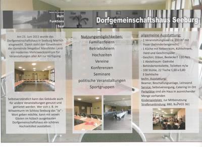 Dorfgemeinschaftshaus Seeburg_Flyer Seite 2